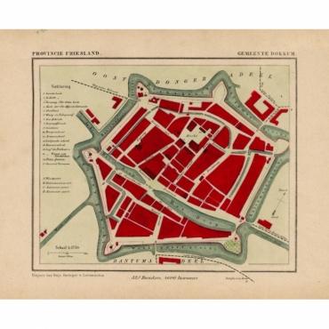 Gemeente Dokkum - Kuyper (1865)