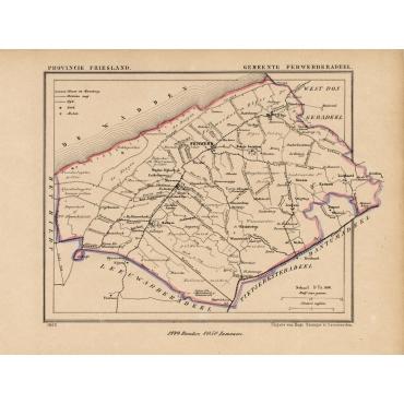 Gemeente Ferwerderadeel - Kuyper (1865)