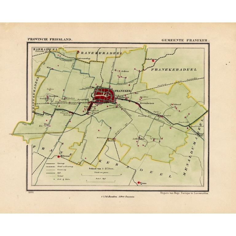 Gemeente Franeker - Kuyper (1865)