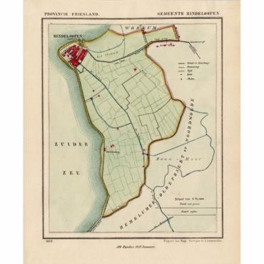 Gemeente Hindeloopen - Kuyper (1865)
