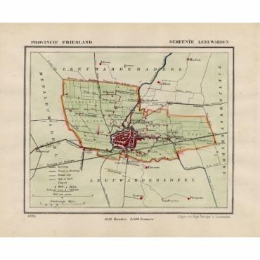 Gemeente Leeuwarden II - Kuyper (1865)