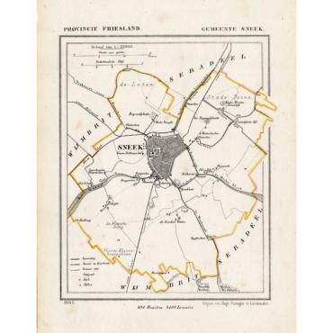 Gemeente Sneek - Kuyper (1865)