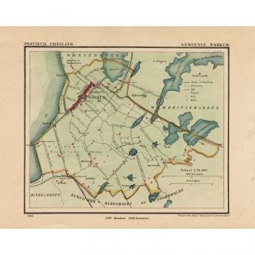 Gemeente Workum - Kuyper (1865)