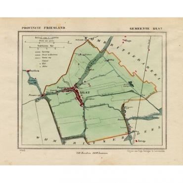 Gemeente IJlst - Kuyper (1865)