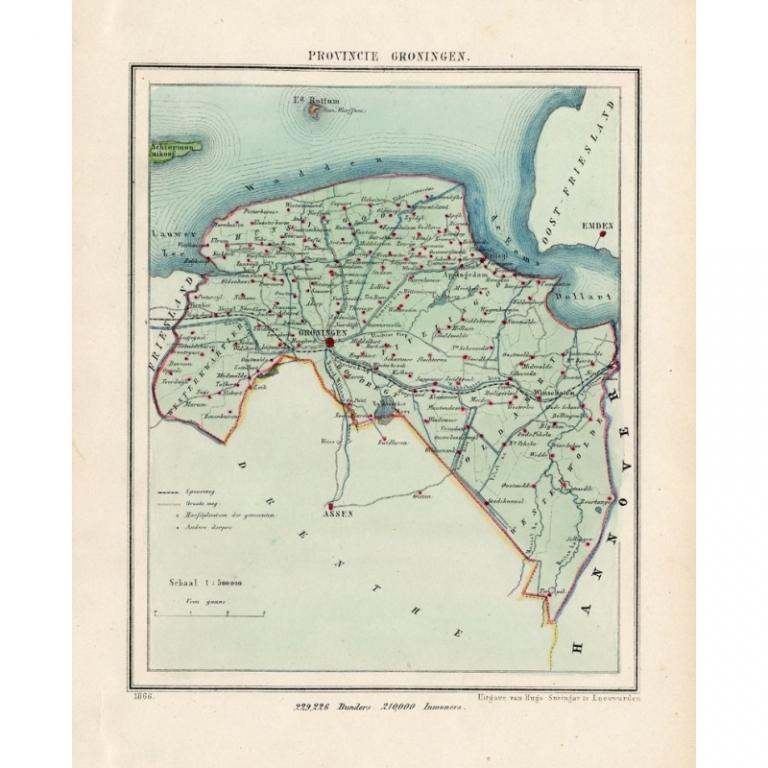 Gemeente Groningen - Kuyper (1865)