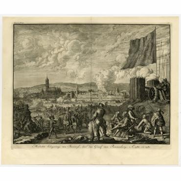 'Mislukte belegeringe van Steenwyk door den Graaf van Rennenberg (..) - Le Clerc (1730)