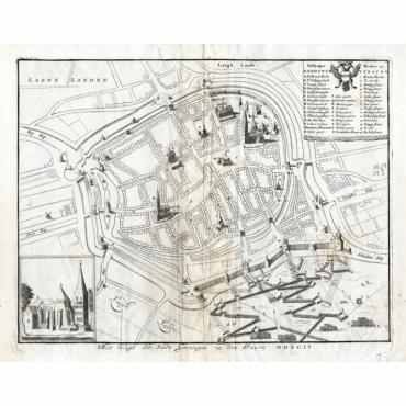 Het Belegh der Stadt Groningen in den Jaere MDXCIV - Le Clerc (1730)