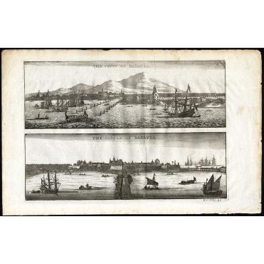 The City of Batavia - The Castle of Batavia - Nieuhof (1673)