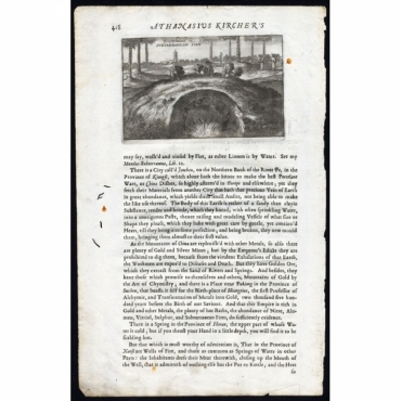 Pyrophylacium or Subterranean fire - Nieuhof (1673)