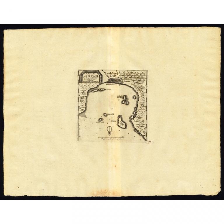 La rade de Bantam - Van der Aa (1725)