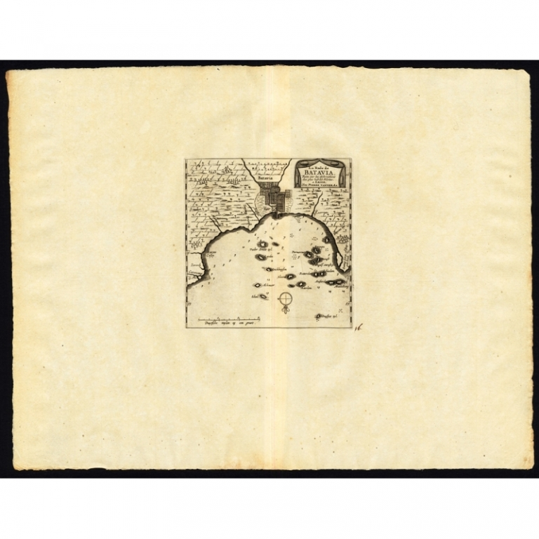 La rade de Batavia - Van der Aa (1725)