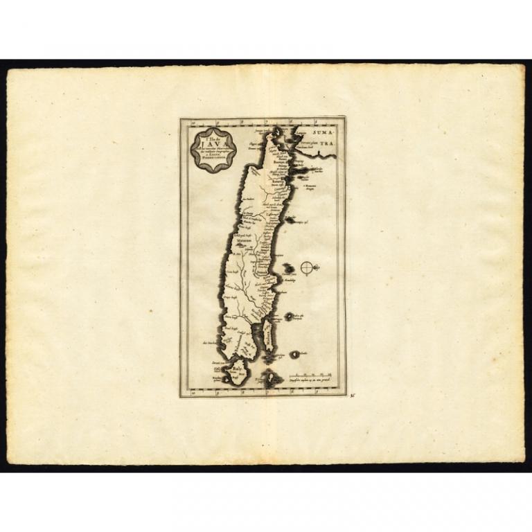 L'Ile de Java - Van der Aa (1725)