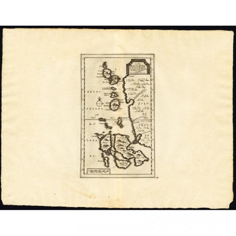 Les Iles Moluques (..) - Van der Aa (1725)