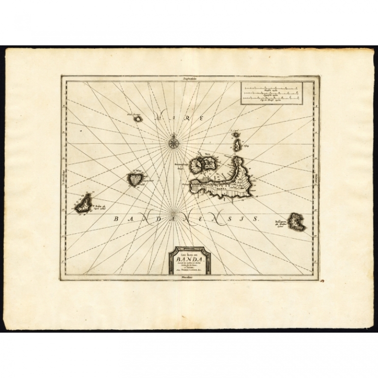 Les Iles de Banda (..) - Van der Aa (1725)