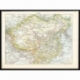 Antique Map of China by Larousse (1897)