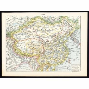 Chine - Larousse (1897)