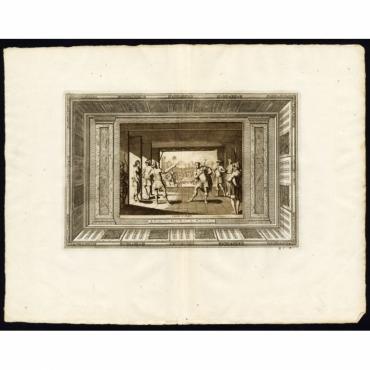 Pl.41a Comedie du Japon - Van der Aa (1725)