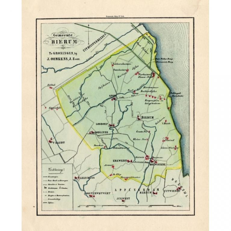 Gemeente Bierum - Fehse (1862)