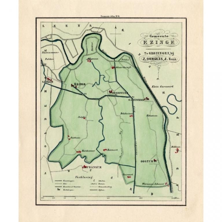 Gemeente Ezinge - Fehse (1862)