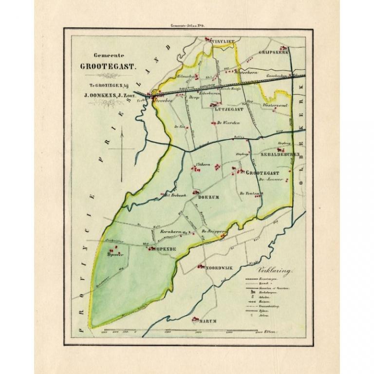 Gemeente Grotegast - Fehse (1862)