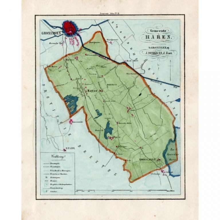 Gemeente Haren - Fehse (1862)