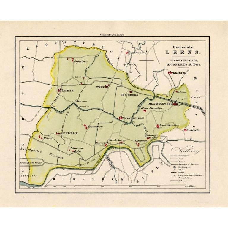 Gemeente Leens - Fehse (1862)
