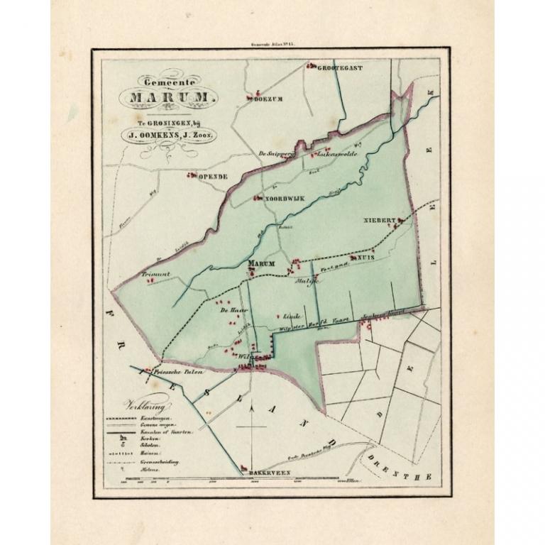 Gemeente Marum - Fehse (1862)