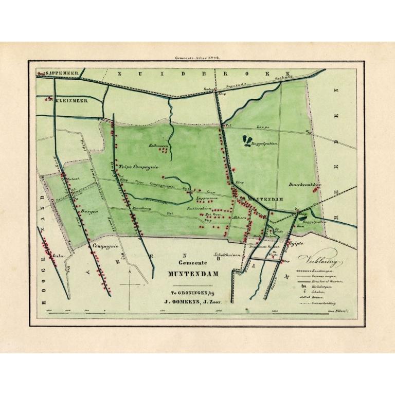 Gemeente Muntendam - Fehse (1862)