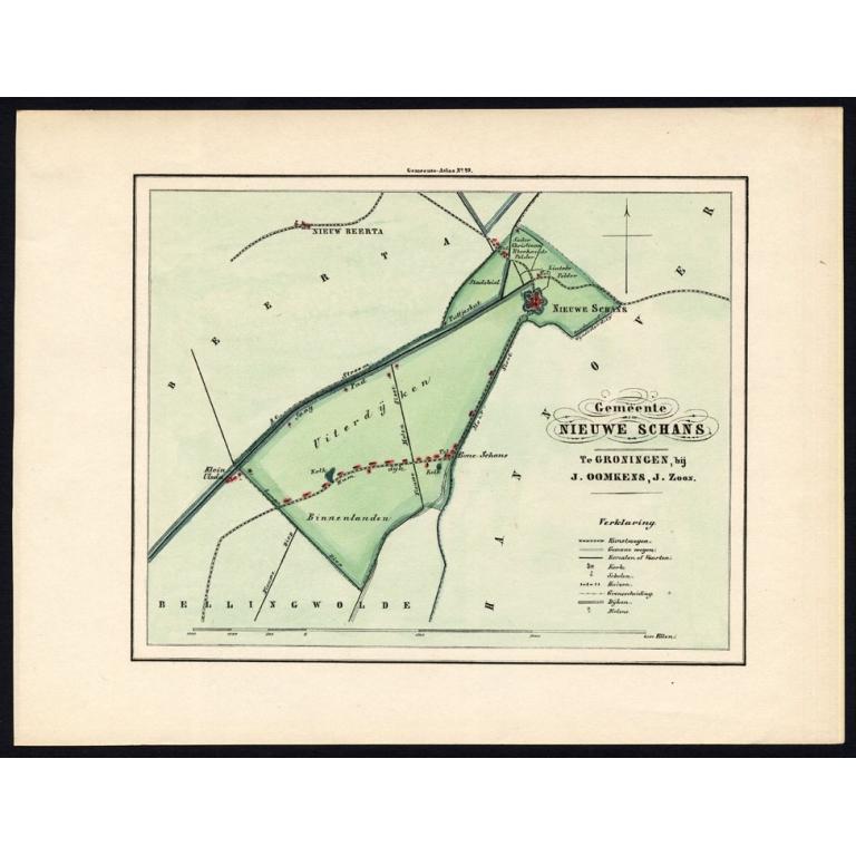 Gemeente Nieuwe Schans - Fehse (1862)