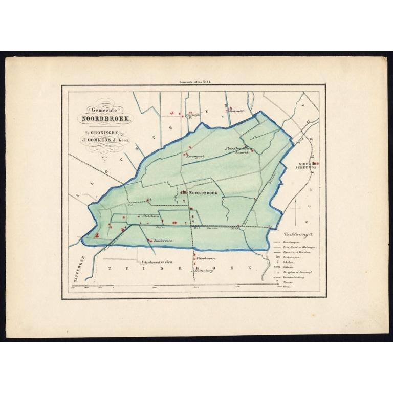 Gemeente Noordbroek - Fehse (1862)