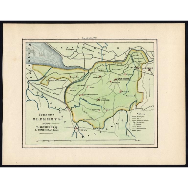 Gemeente Oldehove - Fehse (1862)