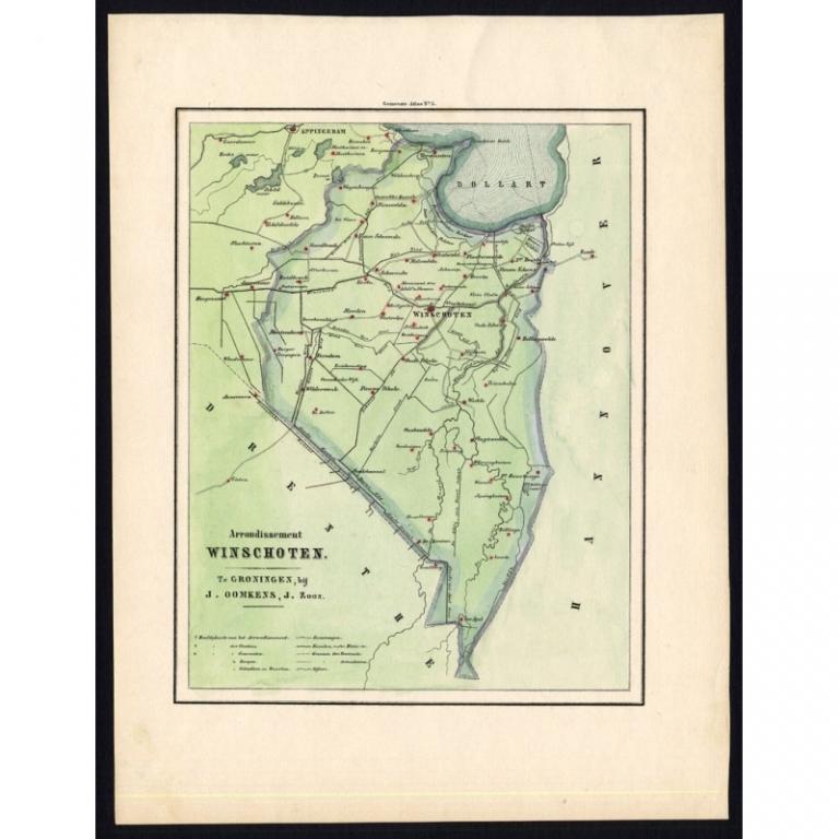 Arrondisement Winschoten - Fehse (1862)