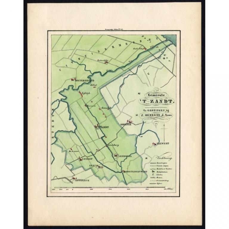 Gemeente Het Zandt - Fehse (1862)