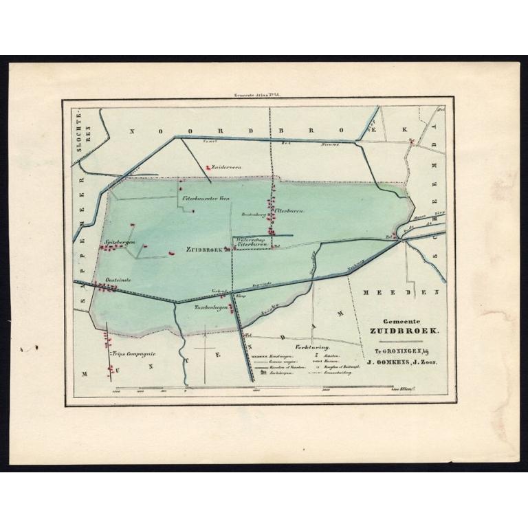 Gemeente Zuidbroek - Fehse (1862)