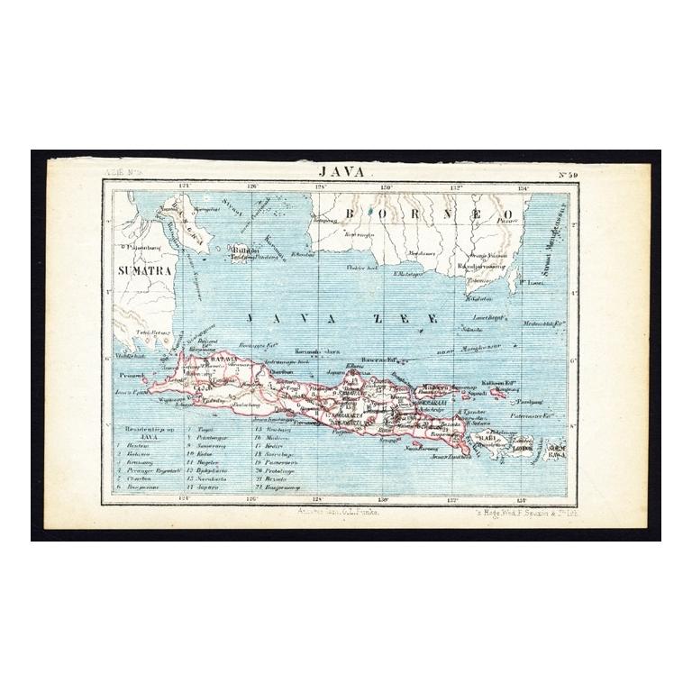 Pl.59 Java - Kuyper (1880)