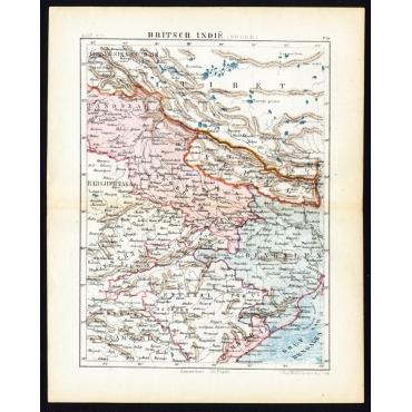 Pl.56 Britsch-Indie, Noord - Kuyper (1880)