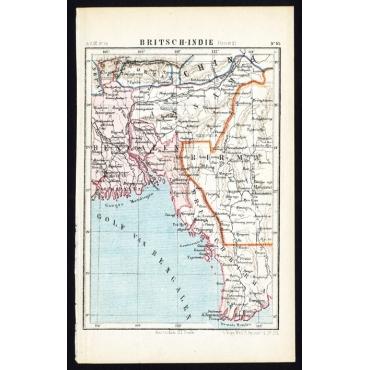 Pl.55 Britsch-Indie, Oost - Kuyper (1880)