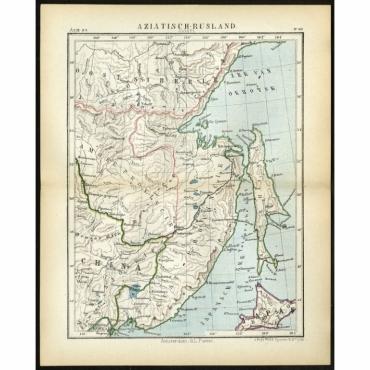 Pl.50 Aziatisch Rusland. Oost - Kuyper (1880)