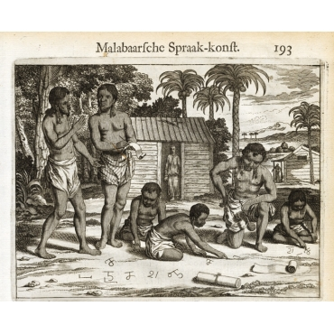 Page 193 Natives of Malabar and their language - Baldaeus (1672)