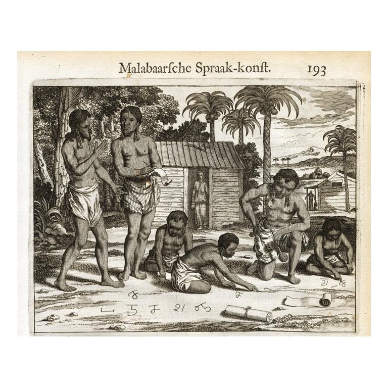 Page 193 Natives of Malabar and their language - Baldaeus (1672)