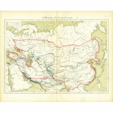 Azie in de 12de, 13de en 14de eeuw - Huberts (1877)