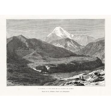 Defile du Darial - Reclus (1881)