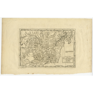 Eastern Tartary as Surveyed by the Jesuits - Kitchin (1746)