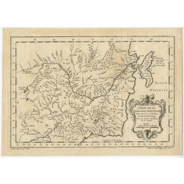 Carte De La Tartarie Orientale (..) - Bellin (1757)