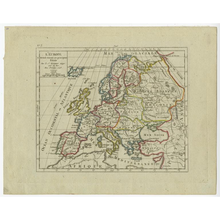 L'Europe - Vaugondy (1748)