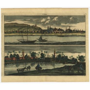 Cairo - De Bruyn (1698)