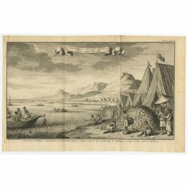 Paerel Visschery, voor Toute Koryn - Philips (c.1740)