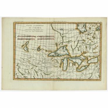 Partie Occidentale du Canada - Bonne (c.1780)