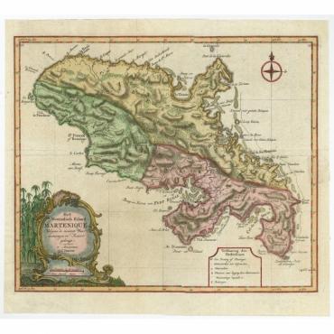 Het Westindisch Eiland Martenique - Tirion (c.1760)