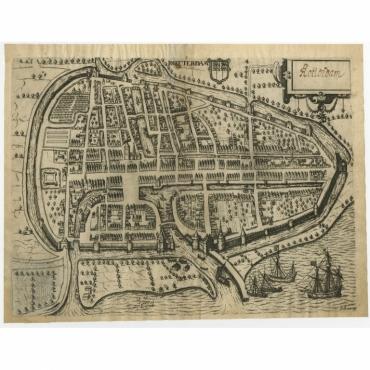 Rotterdam - Guicciardini (c.1600)